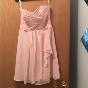 Prom dress strapless